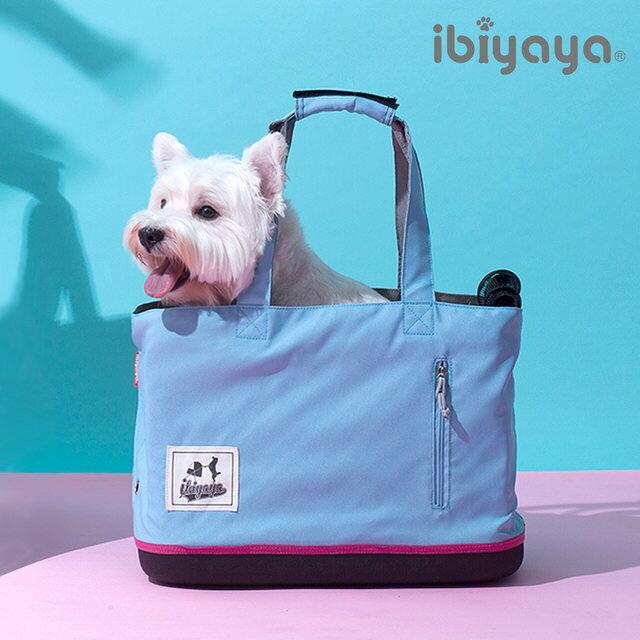 IBIYAYA依比呀呀玩色寵物托特包-冰雪藍(FC1671)