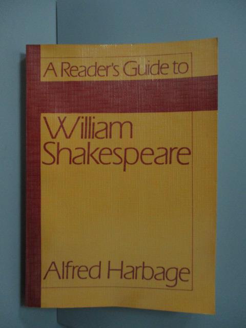 ~書寶 書T2/原文小說_JAC~William Shakespeare_Alfred H