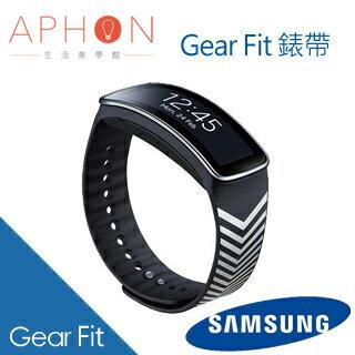【Aphon生活美學館】Samsung Gear Fit 山型臂章錶帶