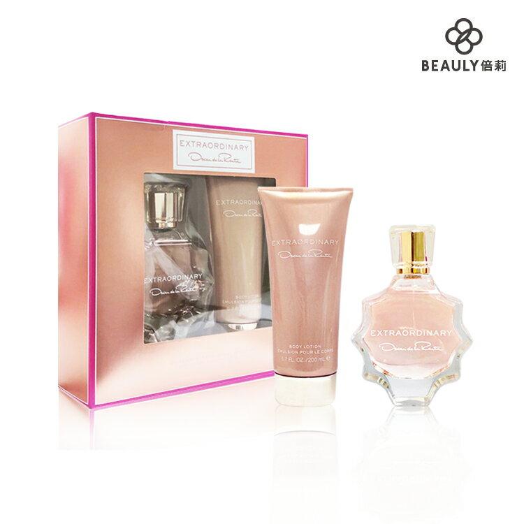 OSCAR DE LA RENTA 粉紅佳人香氛禮盒 (淡香精90ml+身體乳200ml)《BEAULY倍莉》