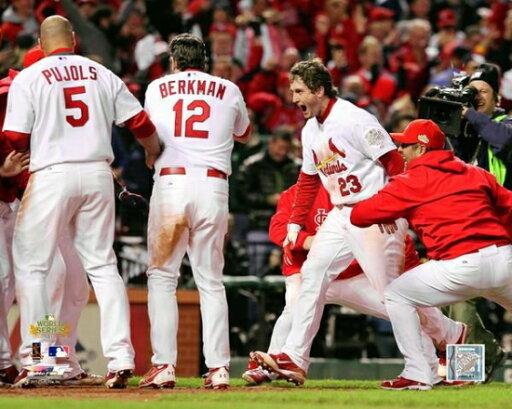 David Freese Game Winning Walk-Off Home Run Game 6 of the 2011 MLB World Series Action (#29) Photo Print (20 x 24) 2fe070b15c91cd2aba0db445965e7ca2