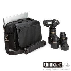 [滿3千,10%點數回饋]Think Tank ThinkTank 創意坦克 彩宣公司貨  UD50 Classic 經典款單肩單眼相機包/公事包-thinkTANK UD822