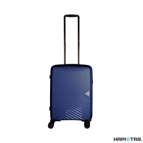 【加賀皮件】CROWN 皇冠 HAPI+TAS 輕量 多色 PP 拉鍊箱 登機箱 旅行箱 19.5吋 行李箱 HAP2082