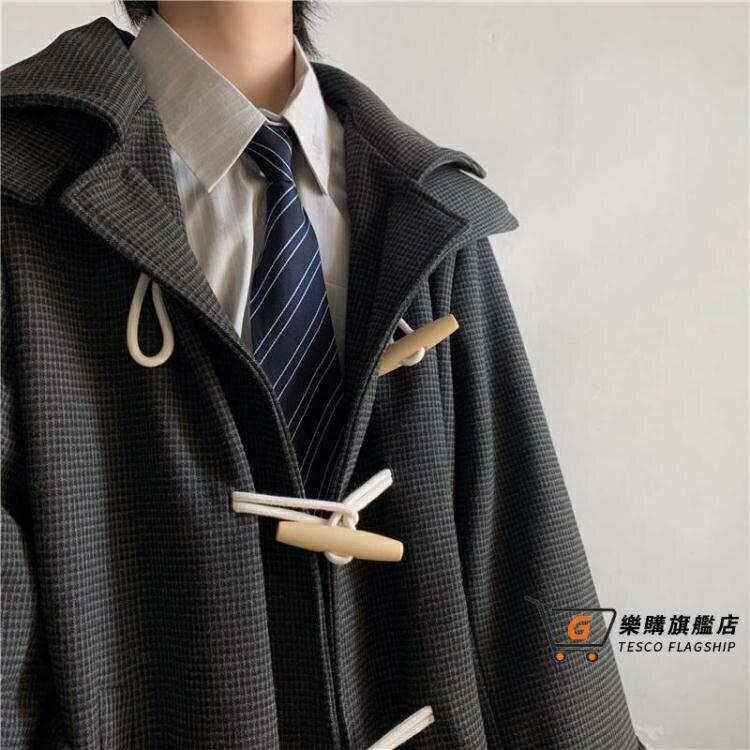 牛角釦大衣 溫柔殺手家含20%羊子DK/JK寬鬆A型超顯瘦保暖冬天T