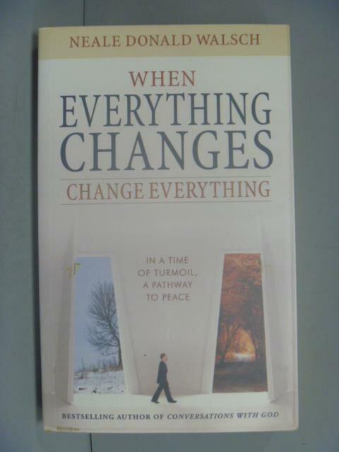 ~書寶 書T6/原文書_LKJ~When Everything Changes Chang