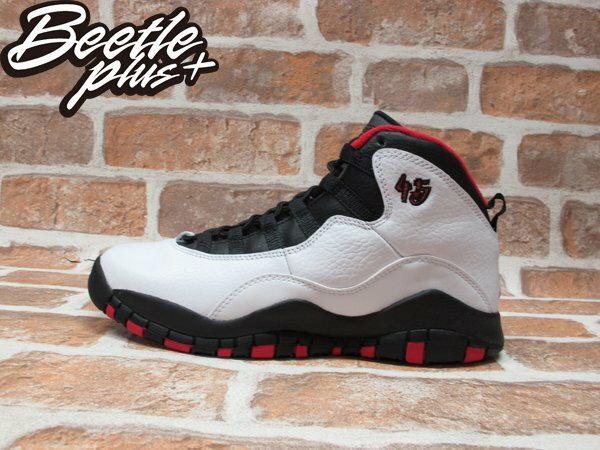 BEETLE PLUS NIKE AIR JORDAN 10 RETRO BG 白黑 黑紅 芝加哥 公牛 喬丹 45 女鞋 310806-102 0