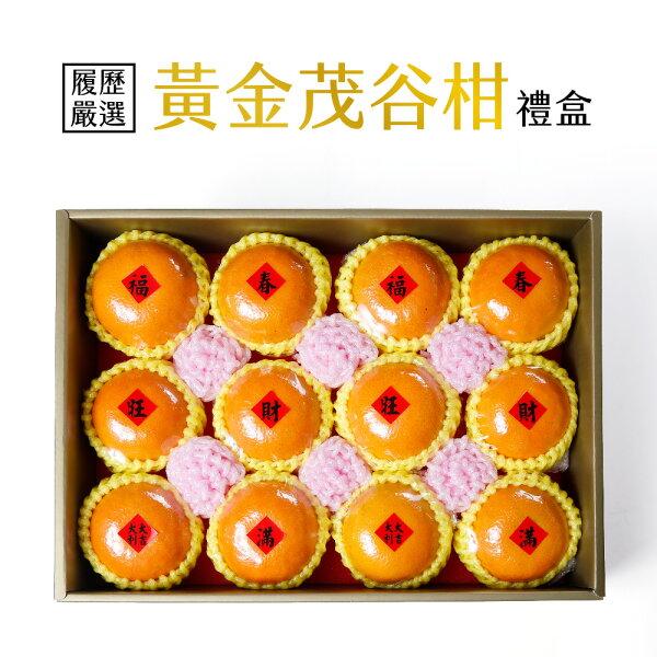 myselect:黃金履歷茂谷柑禮盒(2.5kg盒)(新春禮盒滿$3000免運)