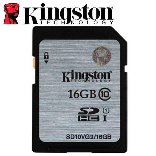 Kingston 金士頓 16GB 80MB/s SDHC SD UHS-I U1 C10 記憶卡