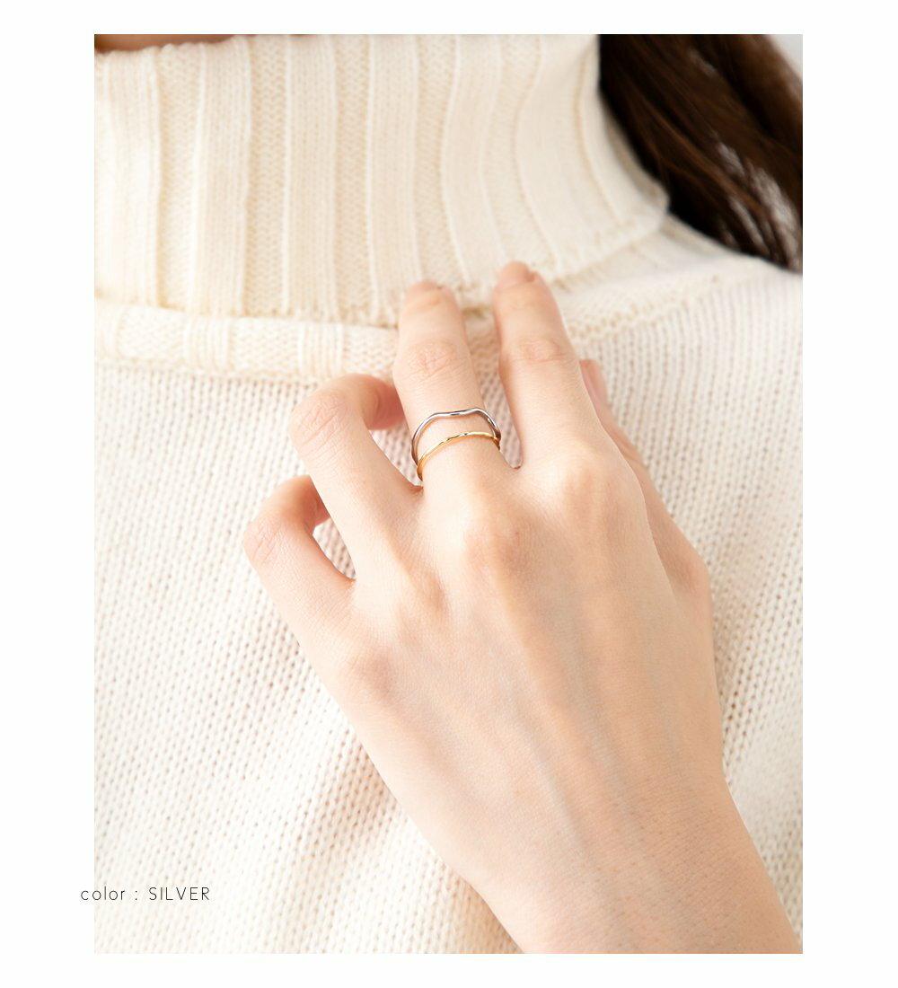 日本CREAM DOT  /  優雅細環不規則戒指  /  a03646  /  日本必買 日本樂天直送(1190) 4