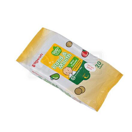 PIGEON 貝親 手口濕巾(20抽/包)【悅兒園婦幼生活館】