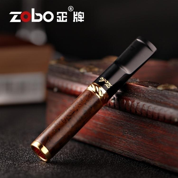 三重過濾檀木懶人煙嘴木質可清洗循環型凈煙器煙嘴過濾器