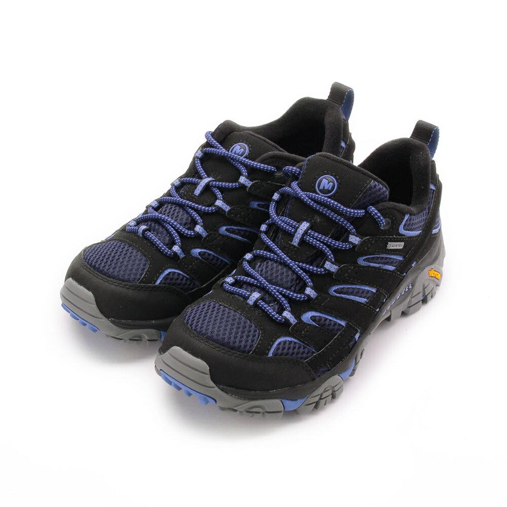 MERRELL MOAB 2 GORE-TEX 戶外多功能鞋防水鞋 深藍 / 藍 ML12134 女鞋 0