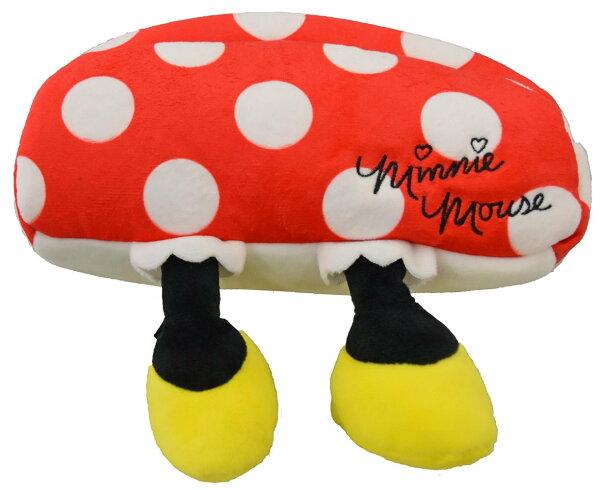 X射線 精緻禮品:X射線【C787594】米妮Minnie造型筆袋,美妝小物包筆袋面紙包化妝包零錢包收納包皮夾手機袋鑰匙包