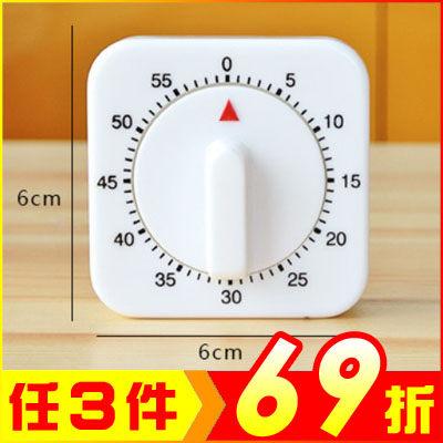 廚房方型機械定時器/計時器【AE02675】i-Style居家生活