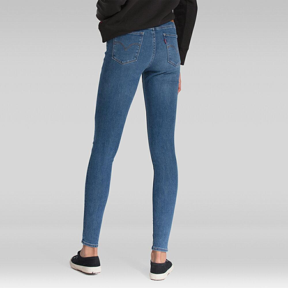 Levis 女款 720 高腰超緊身窄管 超彈力牛仔褲  /  Sorbtek保暖纖維  /  Warm Jeans內刷毛  /  破壞縫補  /  彈性布料 W 3