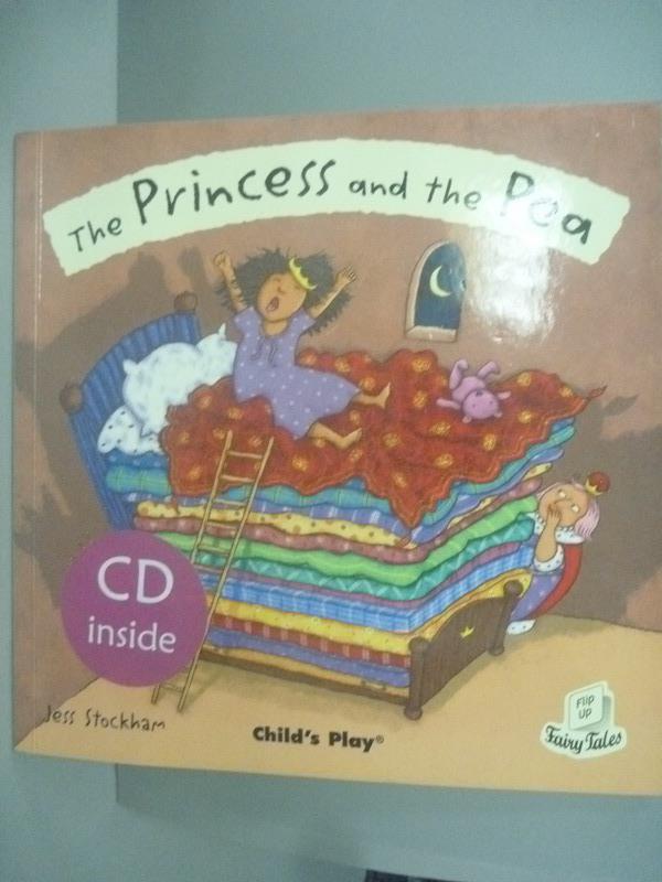 【書寶二手書T1/少年童書_ZCX】The Princess and the Pea 豌豆公主_附光碟