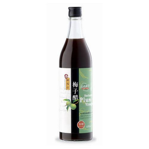 陳稼莊 天然梅子醋(加糖) 600ml/瓶