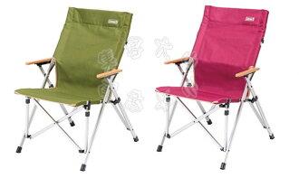 【露營趣】中和 美國 Coleman 極致品味 輕鬆舒壓椅 附收納袋 大川椅 鋁合金休閒椅 導演椅 摺疊椅 CM-3108 CM-3109