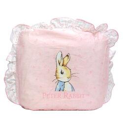 奇哥 彼得兔-比得兔粉彩圓型枕(附2入枕套) 藍/粉
