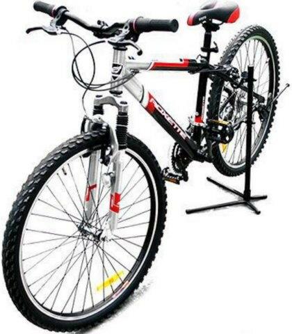 《意生》維修保養必備 樹狀自行車直立停車架 上叉掛勾加長款 立車架 支撐架 駐車架 展示架維修架