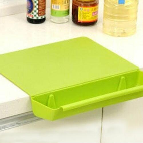 【挪威森林】食品級高密度加厚抗菌砧板/抗菌砧板 附菜渣盒