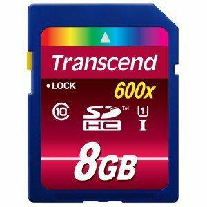 【新風尚潮流】創見 SDHC記憶卡 8G 8GB C10 UHS-I U1 600x TS8GSDHC10U1
