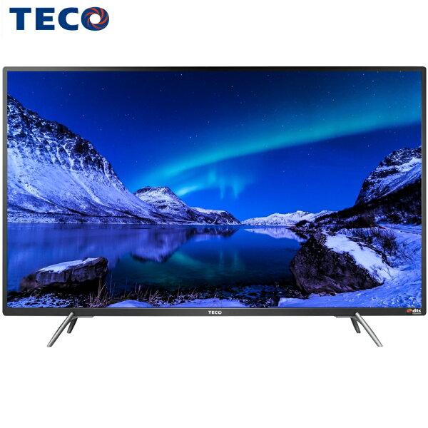 TECO東元TL43A3TRE43吋液晶電視IPS硬板TS1308TRA(視訊盒)
