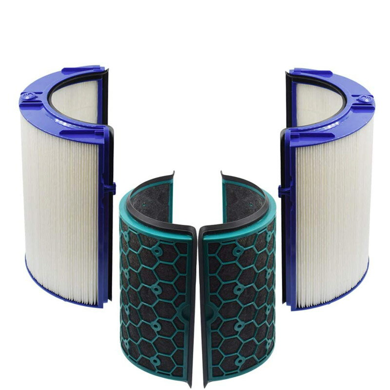 [9美國直購] HEPA Filter 濾網 Activated Carbon Filter Compatible with Dyson Air Purifier TP04 HP04 DP04 Sea