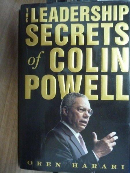 【書寶二手書T8/財經企管_POR】The Leadership Secrets of Colin Powell