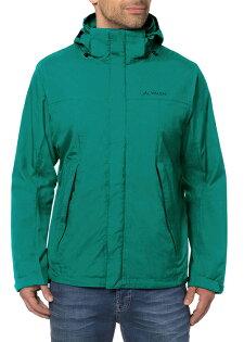 【VAUDE德國】單件式防水夾克防水外套湖綠色男款VA-04341