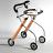 【福利品】瑞典北歐風設計Let's Go室內型步行推車★含一專用餐盤★ 0