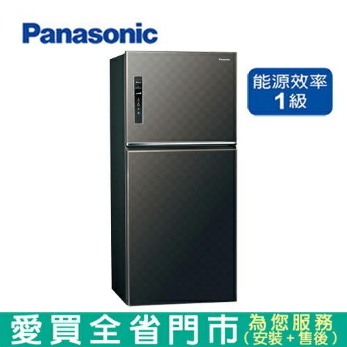 Panasonic國際650L雙門變頻冰箱NR-B659TV-A含配送+安裝(預購)【愛買】