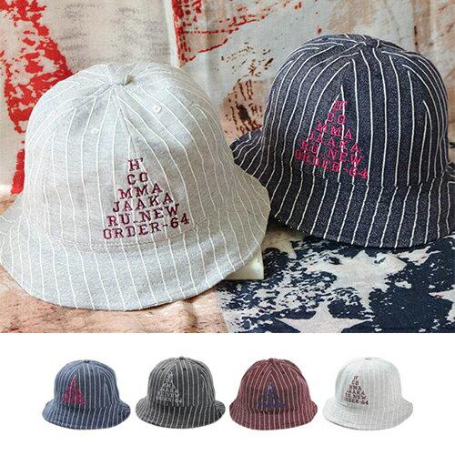 漁夫帽 條紋字母可折疊圓頂遮陽帽中性漁夫帽~QI8163~ BOBI 5 12