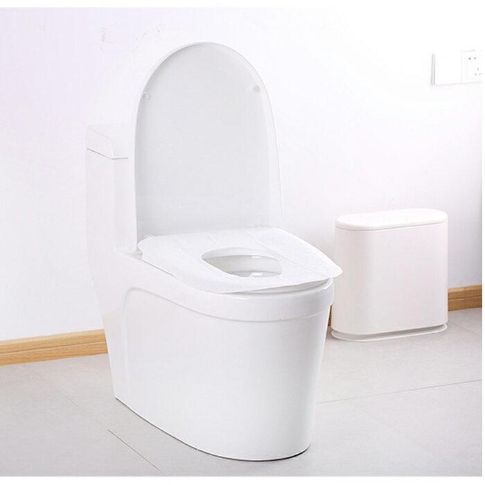 20片家用旅游旅行便攜粘貼一次性馬桶坐墊紙女孕婦產婦廁所坐便套