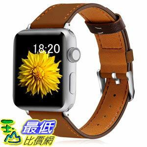 [7美國直購] 錶帶 KOLEK Leather Bands Compatible with Apple Watch, Leather Band iWatch Series 4/3/2/1 B07F7