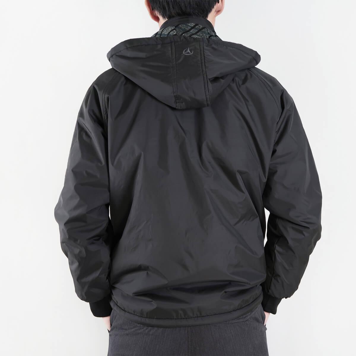 內舖絨布保暖風衣外套 保暖外套 騎士外套 夾克外套 防風外套 黑色外套 FLANNEL LINED WINDBREAKER JACKETS (312-6077-21)黑色 L XL 2L(胸圍46~51英吋) [實體店面保障] sun-e 5