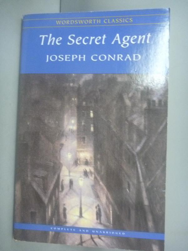 ~書寶 書T3/原文小說_HJG~Secret Agent_Joseph Conrad