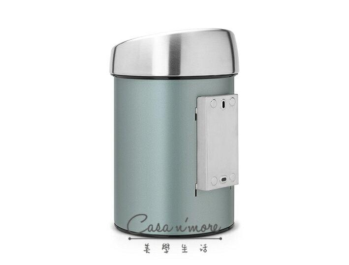 Brabantia 觸摸式垃圾桶 時尚垃圾桶 按壓式 3L-冷薄荷 比利時製造 3