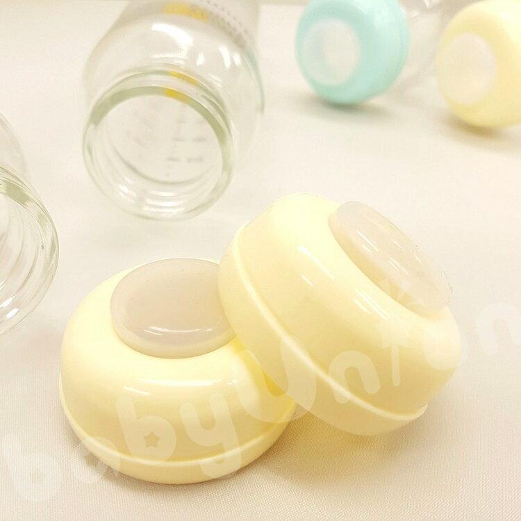 【限量特賣】媽咪小站 - 標準口徑玻璃儲存瓶(奶瓶) 240ml -6支 (瓶身+環+矽膠墊片) 1