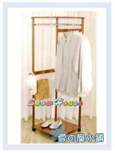 ╭☆雪之屋居家生活館☆╯R996-06巴倫扇形木質衣架吊衣架掛衣架西裝架衣帽架DIY自組