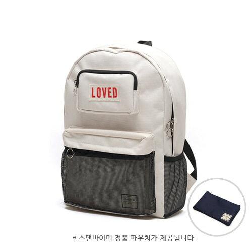 【獨家商品】韓國潮牌 STANd.BY.ME 154 網袋後背包 書包 電腦包 1