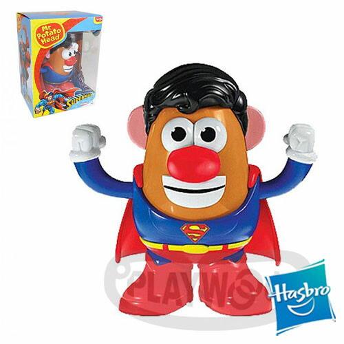 【Playwoods】[兒樂寶PLAYSKOOL] PPW蛋頭組:超人 Mr. Potato Head - Superman (孩之寶/蛋頭先生)