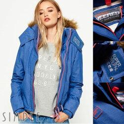 ★現貨★ Superdry 極度乾燥 女款 Sherpa SD-Wind Attacker 絨毛連帽防風夾克