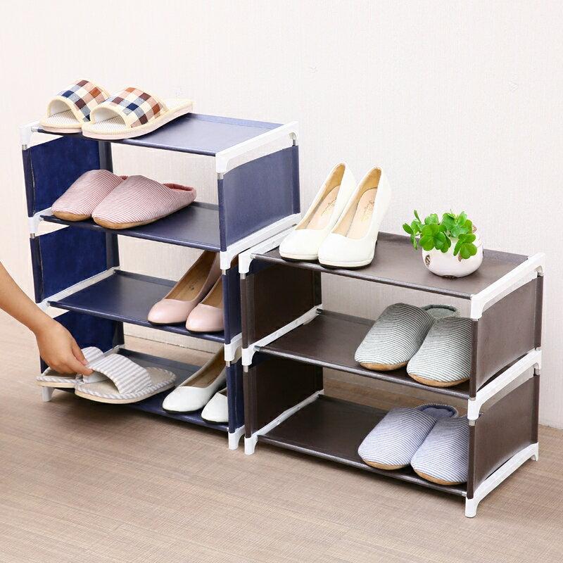 11.11 多層鞋架家用宿舍簡易鞋架防塵省空間鞋架門