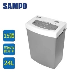 SAMPO 聲寶多功能碎紙機-短碎狀SB-U13152SL