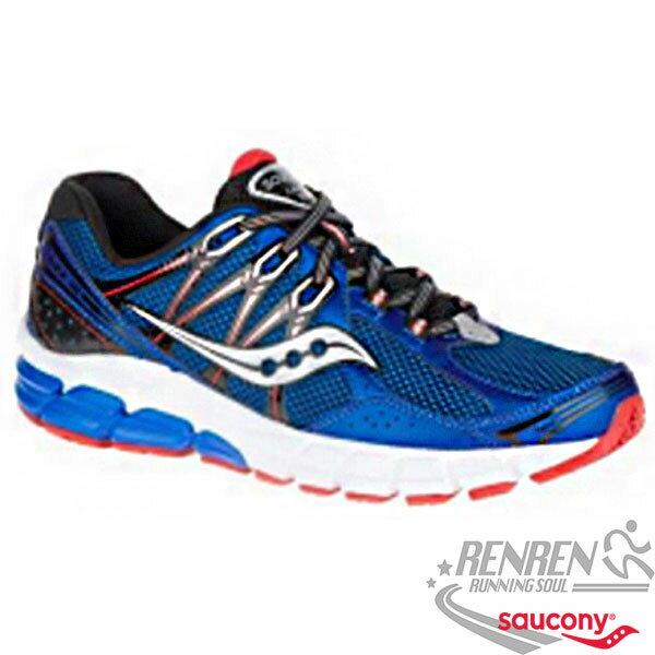SAUCONY JAZZ 18 男慢跑鞋 (藍) 運動生活系列 避震 彈性 舒適
