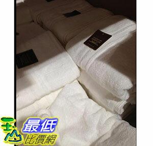 [105限時限量促銷] COSCO GRANDEUR BATH TOWEL 印度進口純棉浴巾白色 尺寸:76X147公分 C597160