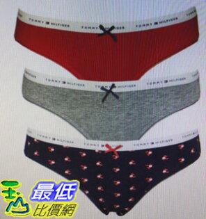 [COSCO代購]W1195525TommyHilfiger女內褲三入組