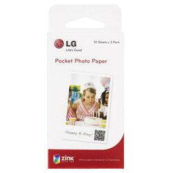 【中壢NOVA-水世界】LG Pocket photo PD239 / PD233 隨身相片印表機【專用相紙 30張入】