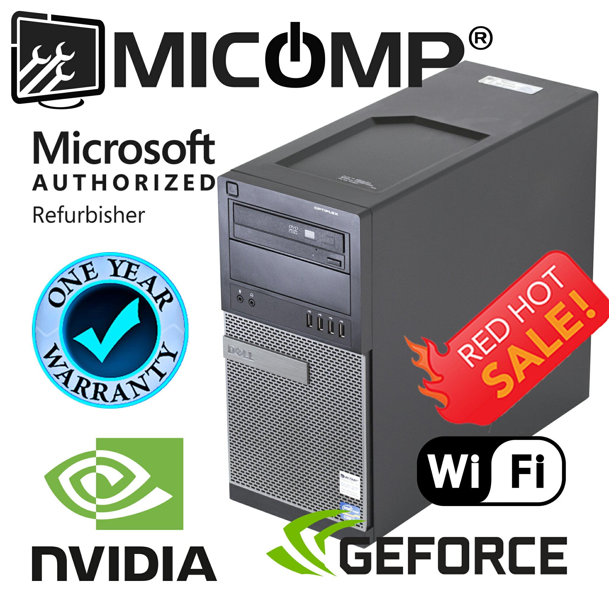 MICOMP: Hp Elite Gaming Computer Nvidia GT 1030 SFF Quad I5